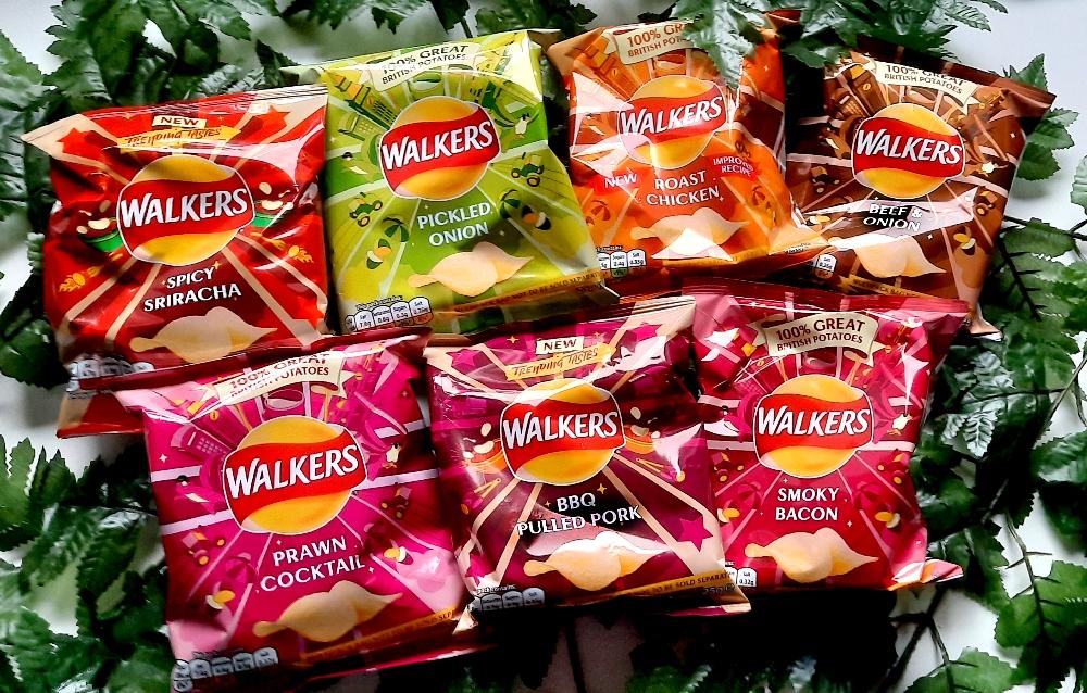 Walkers Chips Übersicht