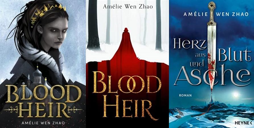 """""""Blood Heir"""" ist """"Herz aus Blut und Asche"""" von Amélie Wen Zhao"""