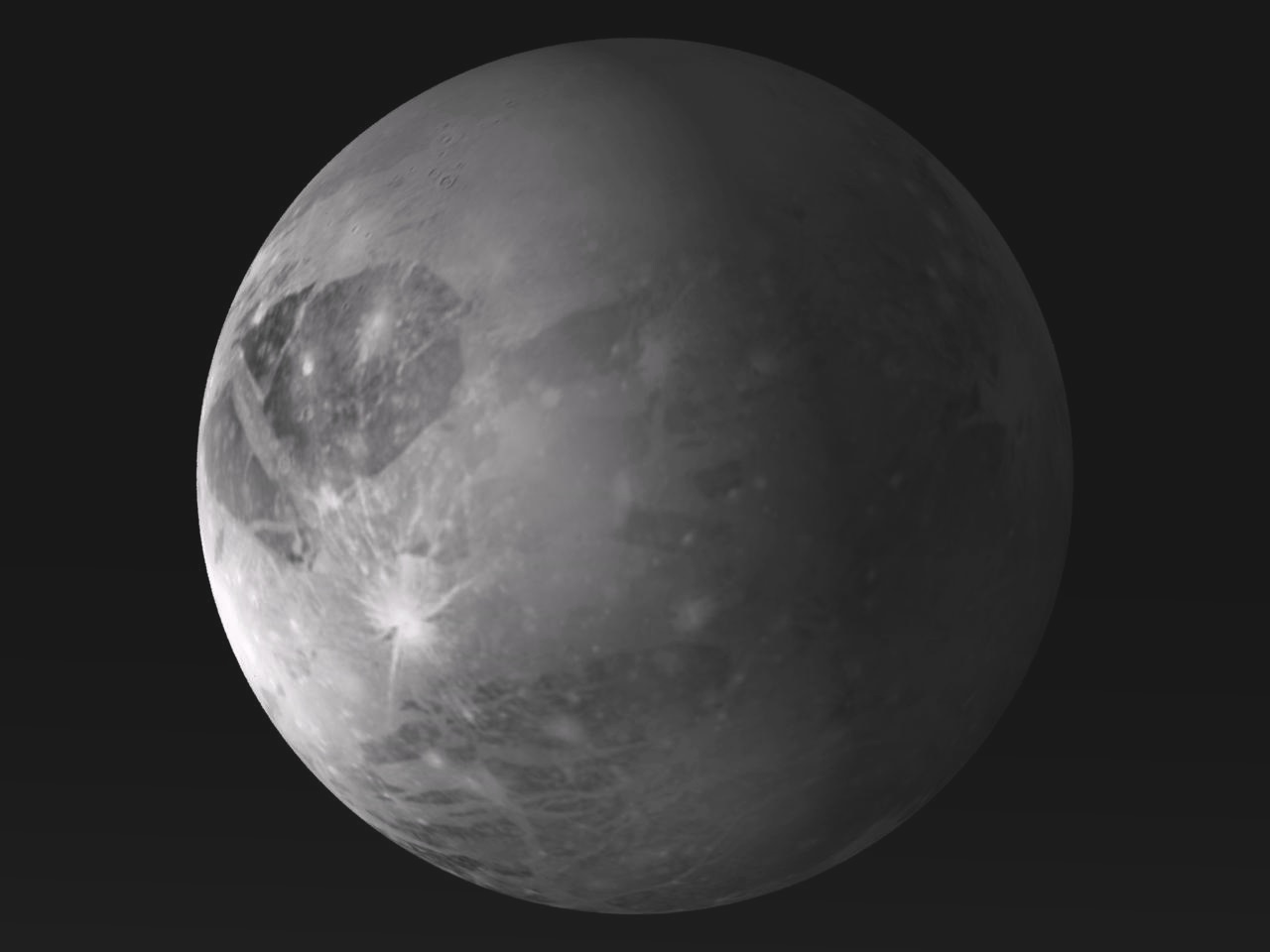 Dwarf Planet Two Moons