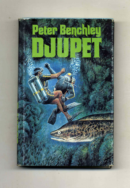 Djupet The Deep 1st Swedish Edition Peter Benchley