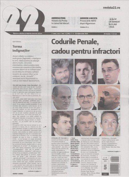 revista-22-romania-cover-nr-5-2014