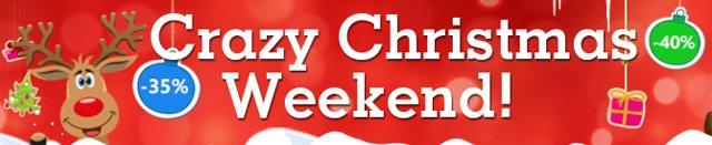 crazy christamas weekend