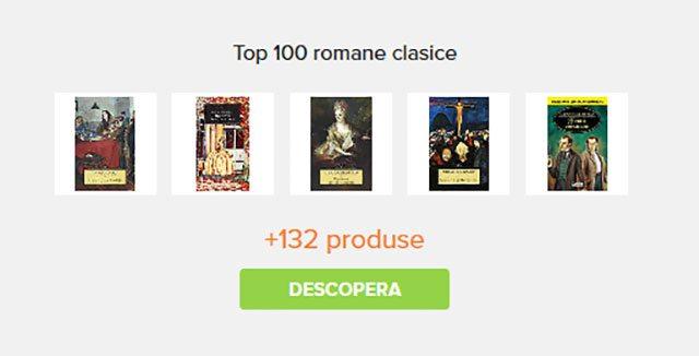 top 100 romane clasice