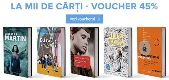 voucher cărți