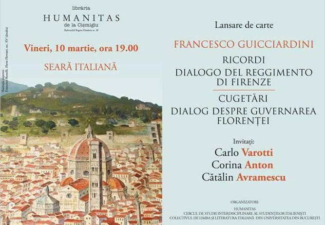 Cugetari. Dialog despre Guvernarea Florentei