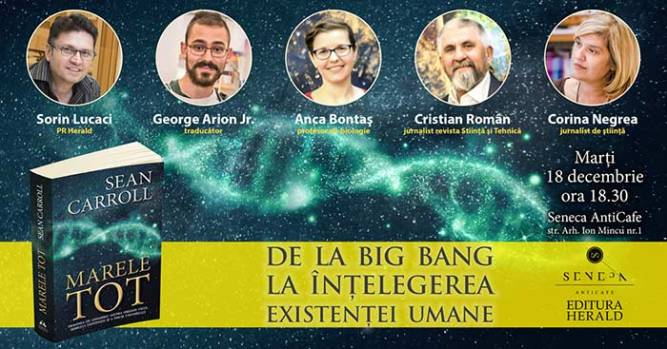 De la Big Bang la înţelegerea existenţei umane