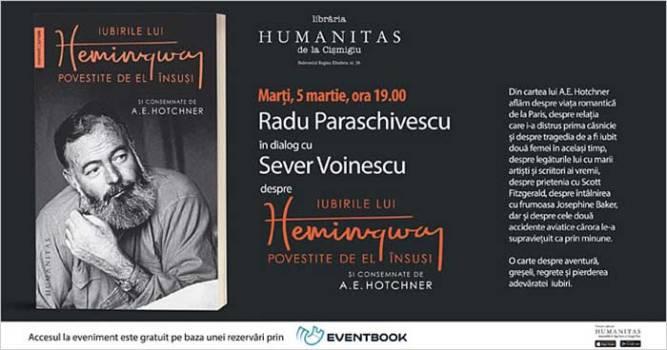 Iubirile lui Hemingway povestite de el însuși