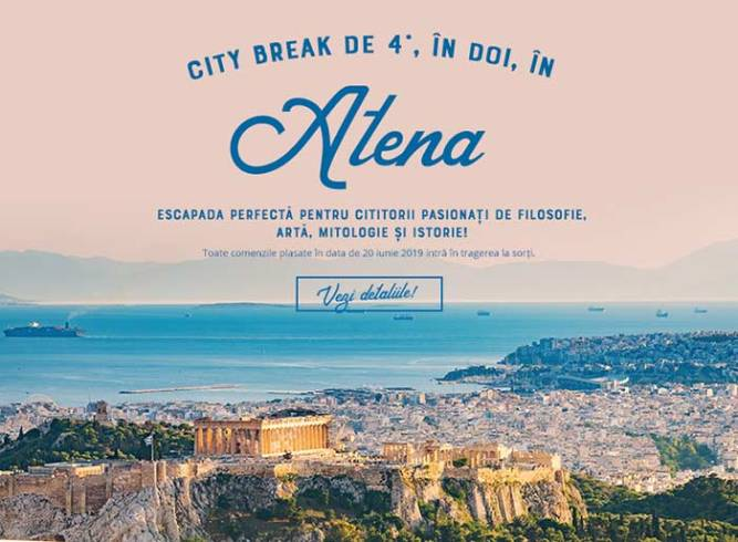 City Break la Atena