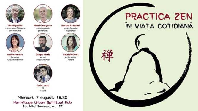 Practica Zen în viața cotidiană