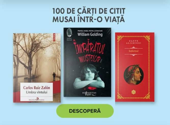 100 de cărți
