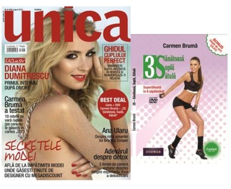 Revista_Unica_august_+_carte_si_DVD_Carmen_Bruma