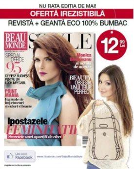 revista_Beau_Monde_cadou_geanta_eco