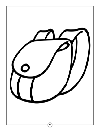 My First Coloring Book 2