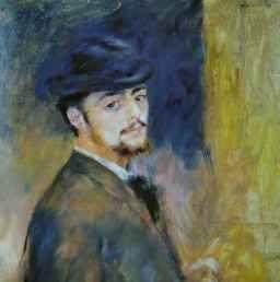 Pierre Auguste Renoir Self-portrait 1876