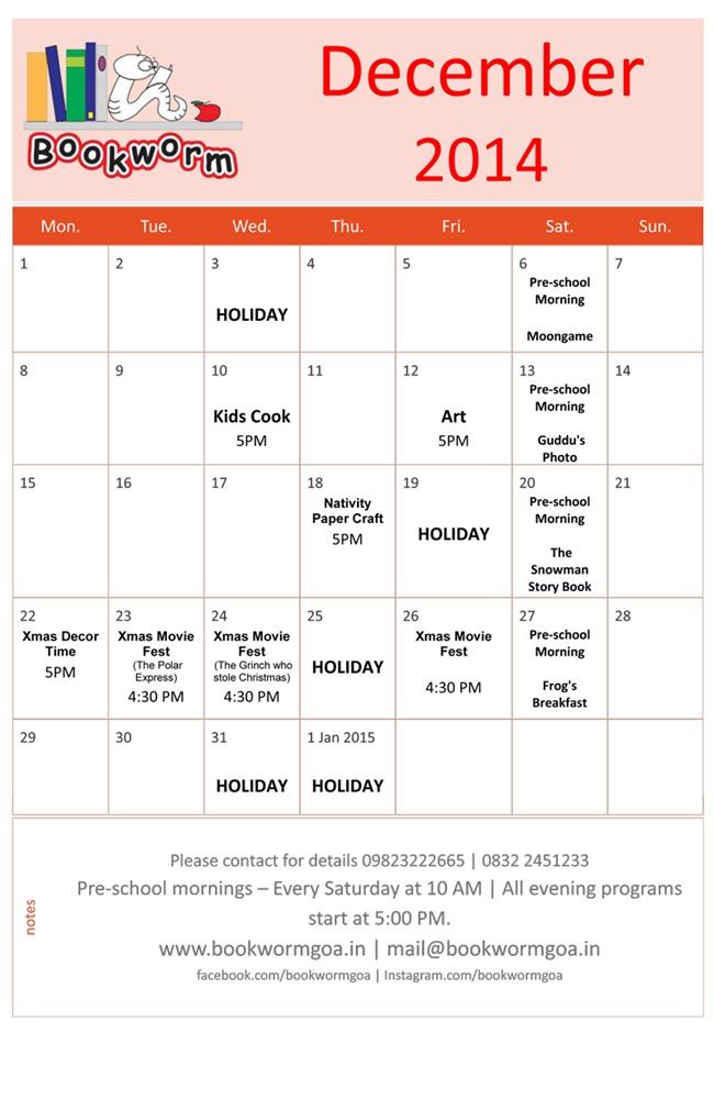 December-2014-events