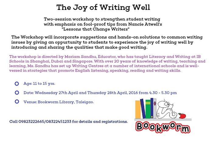 Joy of Writing Well