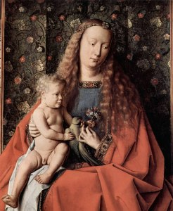 Virgin and Child by Jan van Eyck