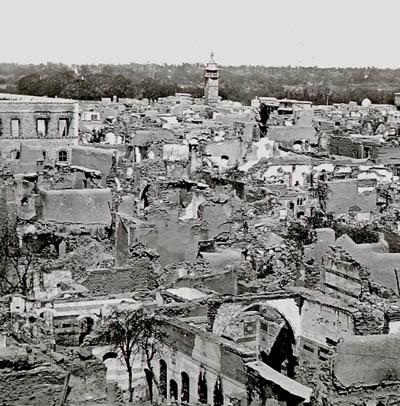 Resultado de imagem para damascus 1860 massacre
