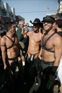 Folsom Street Fair leather guys