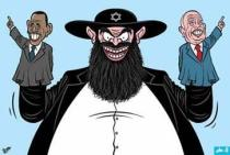Antisemitic imagery from the Arab world
