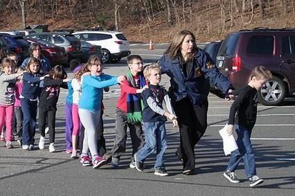 Children in Newtown Connecticut
