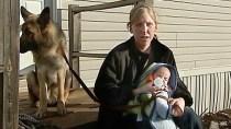 Widowed teen mother shoots home intruder