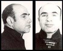Al Capone at Alcatraz