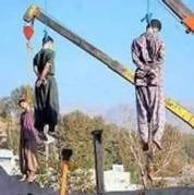 Hanging gays in Iran