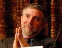 Paul Krugman, looking smug