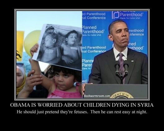 Obama's Syrian child dilemma