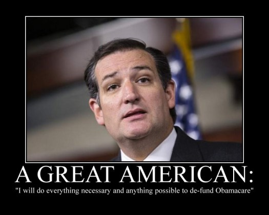Ted Cruz a great American