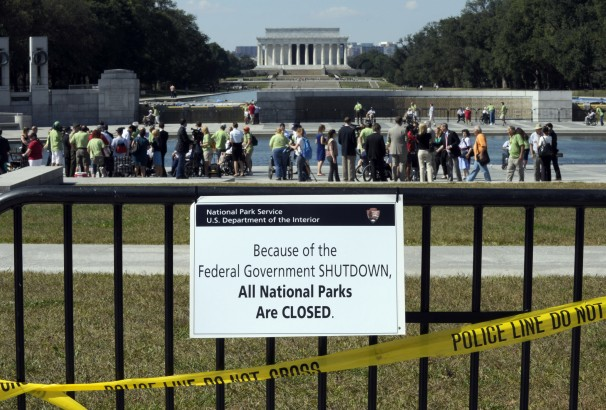 Veterans ignoring the NPS power play and visiting WWII memorial