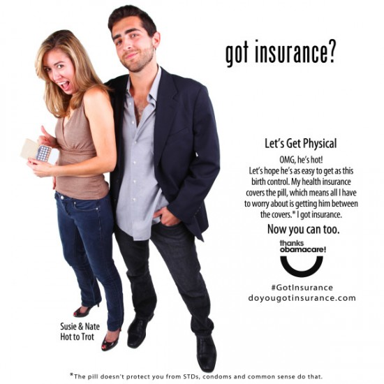 Obamacare hot to trot ad