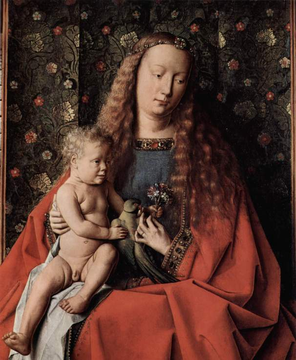 Jan van Eyck Virgin and Child