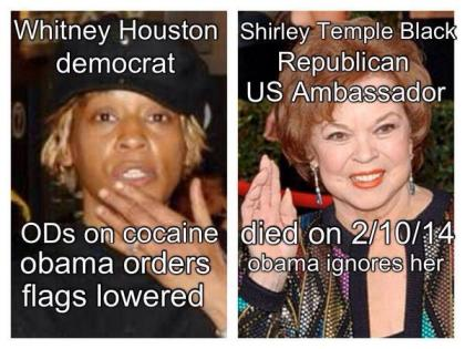 Shirley Temple and Obama