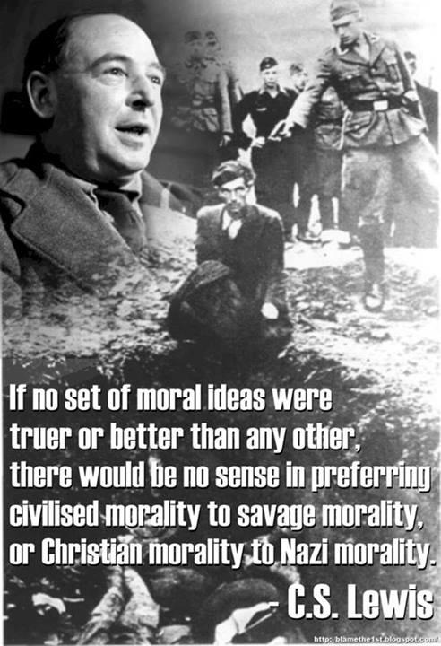 CS Lewis on morality