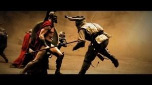 Fight scene 300