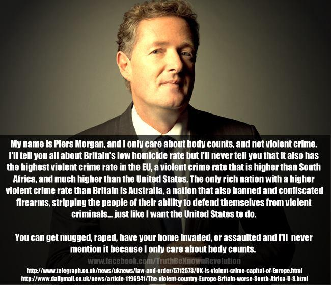 Piers Morgan on guns