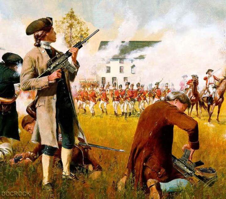 Patriots and their guns