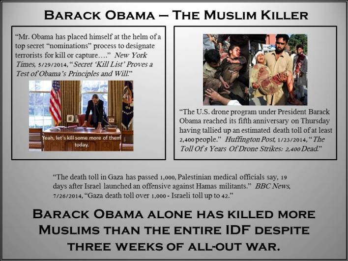 Barack Obama - Muslim Killer