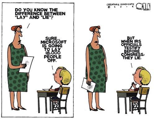 IRS lies