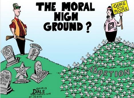 Moral high ground