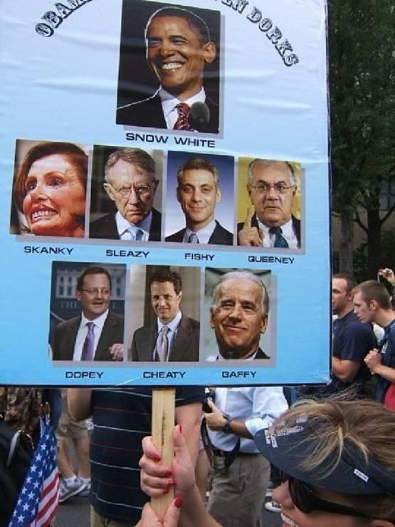 Obama and the seven dorks