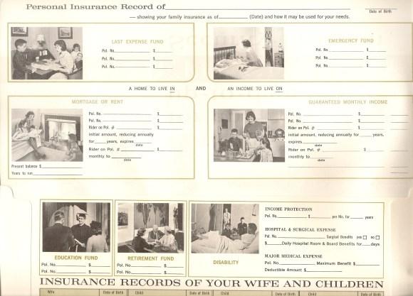 White Insurance folders