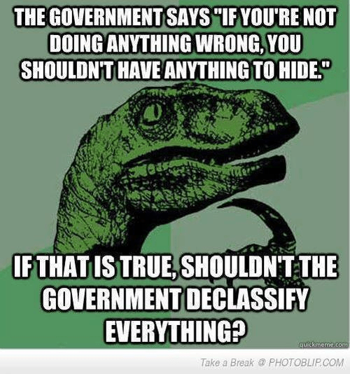 Declassify everything