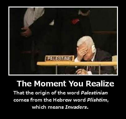Meaning of Palestinian