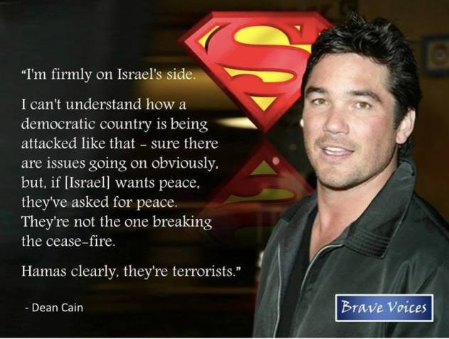 Superman on Israel