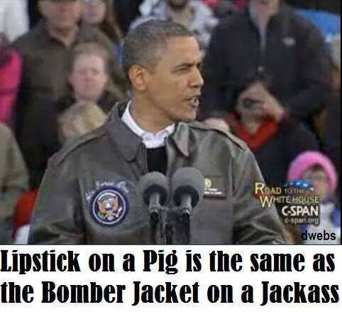 Lipstick on the Obama pig