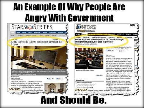 Why people are angry with the government