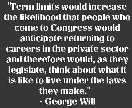 Why term limits are smart